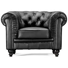 chairs black leather arm chair aristocrat classic tufted