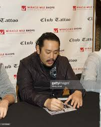 linkin park autograph signing at club tattoo photos and images