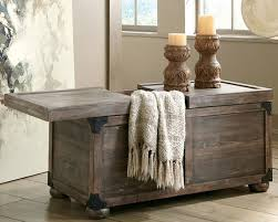 rustic coffee table with storage the coffee table rustic trunk style with storage regarding tables