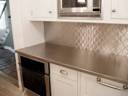 kitchen modern kitchen stainless steel backsplash of kitchen