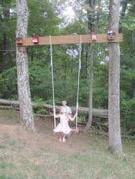 tree swing for tree without branches deck ideas pinterest