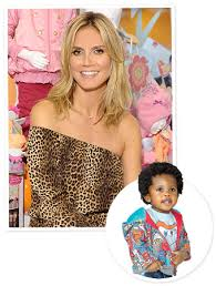 look heidi klum s adorable clothes for babies r us
