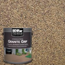 behr premium 1 gal gg 13 pebble sunstone decorative concrete