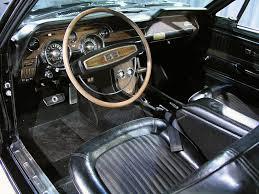 Black 68 Mustang Fastback 1968 Shelby Mustang Gt500kr Fastback
