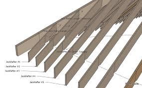 Hip Roof Measurements Irregular Hip Roof Rafters