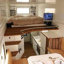 Micro House Interior Design Introducing The Unicat One Extreme Rv Small Places Australia