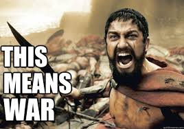 This Means War Meme - this means war 300 tonight we dine quickmeme