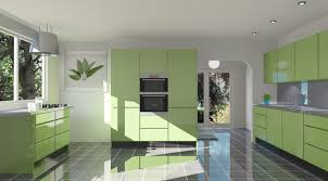 Examples Of Painted Kitchen Cabinets Kitchen Decorating Green Kitchen Designs Kitchen Paint Design