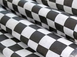 black and white wrapping paper wax paper 25 sheets of black and white checkered wax