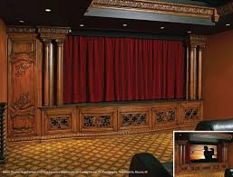 Curtains On A Stage 10 Best Draper Home Theatre Images On Pinterest Projection