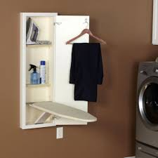 Laundry Room Decor Accessories by Classic Laundry Room With White Wooden Recessed Wall Insert