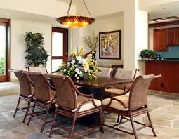 beautiful rattan dining chairs convention hawaii tropical dining