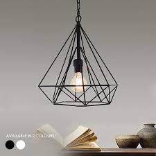 wire pendant light fixtures wire cage pendant light elegant geometric ambient for 25