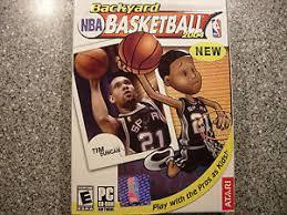 Backyard Basketball Pc by Backyard Basketball Video Games Ebay