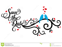 wedding save the date clipart 60