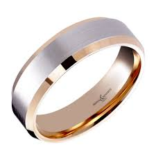 palladium wedding band brown newirth palladium 18ct gold 5 00mm flat wedding