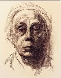 kollwitz self portrait 1890 painting pinterest