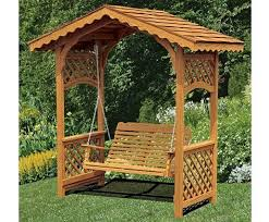 swing arbor plans easy building shed and garage arbor swings design arbor swing
