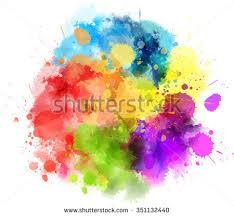 multicolored splatter download free vector art stock graphics