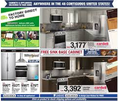 kitchen sink base cabinet menards menards current weekly ad 12 29 01 04 2020 12 frequent