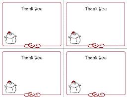 free printable thank you note cards calendar template calendar