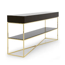 Metal Console Table Modern Style Metal Console Table Klepsidra 982 Sevensedie