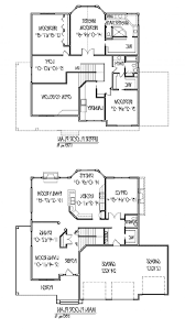 simple double storey house plans home design top ideas about two