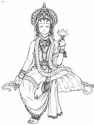 nice looking hinduism coloring pages kali cecilymae