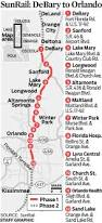 Map Orlando Airport by Orlando Sunrail Commuter Train Service Begins Dilemma X