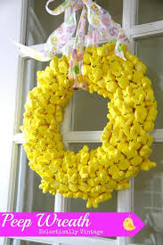 peeps decorations diy easter decorations 17 ideas how to make a easter door