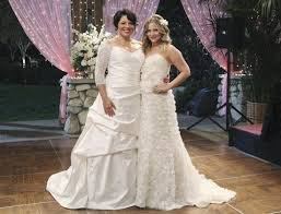wedding dresses az you re invited to callie and arizona s wedding afterellen