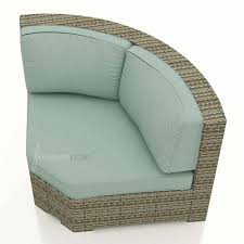 Curved Wicker Patio Furniture - forever patio hampton wicker 45 degree sectional corner chair