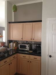 Kitchen With Light Oak Cabinets Mauve Schmauve Reducing The Pink Of Pickled Oak Cabinets Table