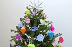 Christmas Tree To Decorate Easy Diy Homemade Christmas Tree Decorations