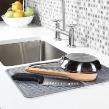 Renjia Silicone Kitchen Sink Dish Rack Huge Silicone Dish Drying - Kitchen sink dish rack