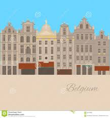city sights brussels architecture landmark belgium country flat