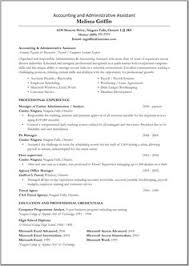 Accountant Assistant Resume Sample Great Administrative Assistant Resumes Administrative Assistant