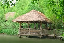 Tiki Hut Material Thatch Bamboo Materials Tiki And Tropical Decor