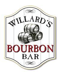 bourbon sign vintage bourbon barrel fashioned bourbon bar and ship wood sign