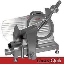schneidemaschine küche aufschnittmaschine 2 12mm gastroquik edelstahl