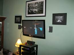how to hide wires for wall mounted tv speaker wires under baseboards 8 steps with pictures