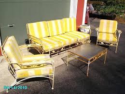 Homecrest Outdoor Furniture - patio ideas vintage wrought iron patio furniture ebay lyon shaw