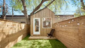 Saltbox Architecture Architect Builds His Own Studio At The End Of Toronto Garden