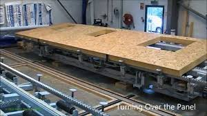 Sip Panel Homes by Val U Therm Building Panel Manufacturing Process Youtube