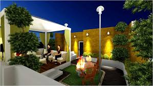 terrace garden design ideas and tips stairs case in the nearby