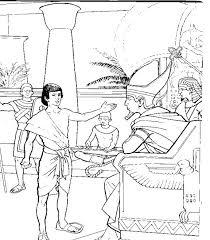 bible joseph egypt coloring free download