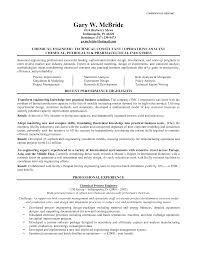 cover letter resume format for chemical engineer resume template