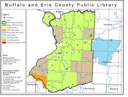 New York State Counties Map by Buffalo And Erie County Public Library Public Library Service