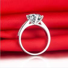 diamond rings box images 1 ct elegant lovely design female engagement ring solid 18k white jpg