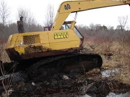 drott excavator stuck tow411